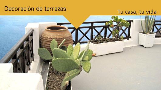 Tu casa, tu vida: Decoración de terrazas