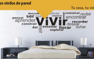 Tu casa, tu vida: Los vinilos de pared